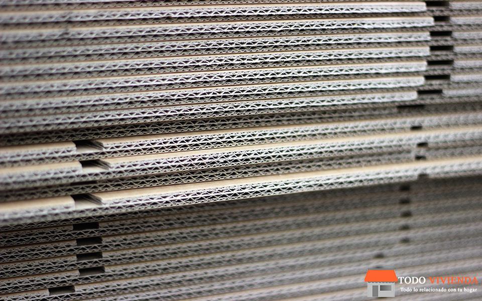 Cajas de cartón de embalaje para mudanzas.
