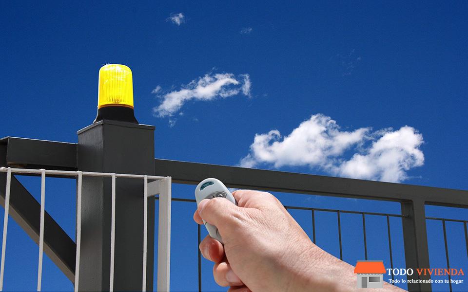 Puerta automática para tu vivienda