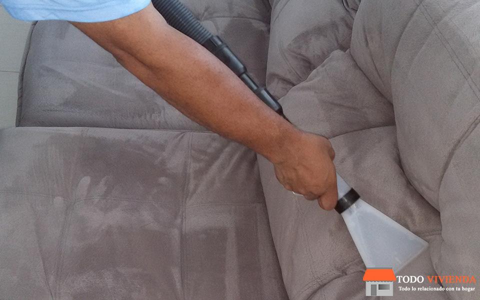 telas para el sofá